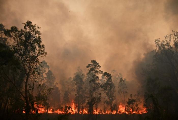 La Nouvelle-Calédonie embrumée par les incendies en Australie