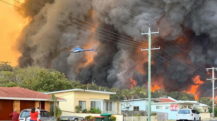 3 Tote bei Buschbränden an der Ostküste