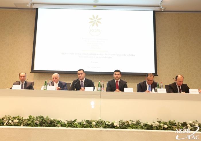 La Agencia para el Desarrollo de las PYMES de Azerbaiyán organizó un debate público