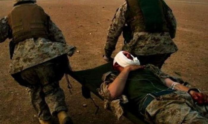 - erməni hərbçi yaralanıb