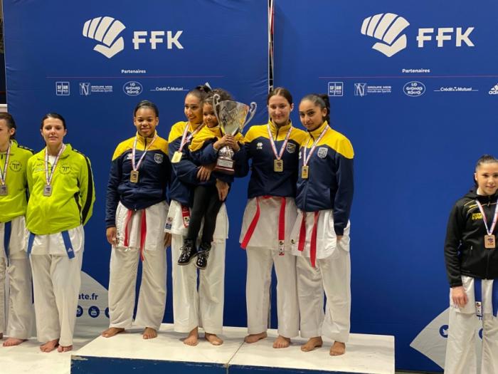 Karateca azerbaiyana gana la Copa de Francia 2019