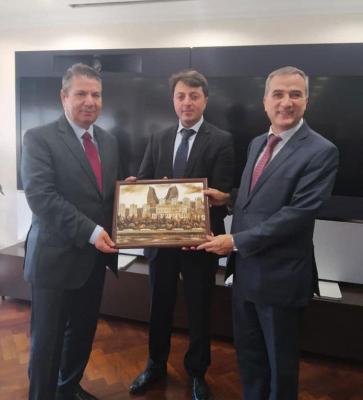 Chairman of Azerbaijani community of Nagorno-Karabakh region meets with Turkish deputy FM