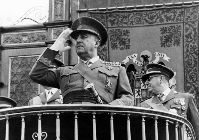 İspaniya diktatoru Frankonun vəsiyyəti açıqlandı