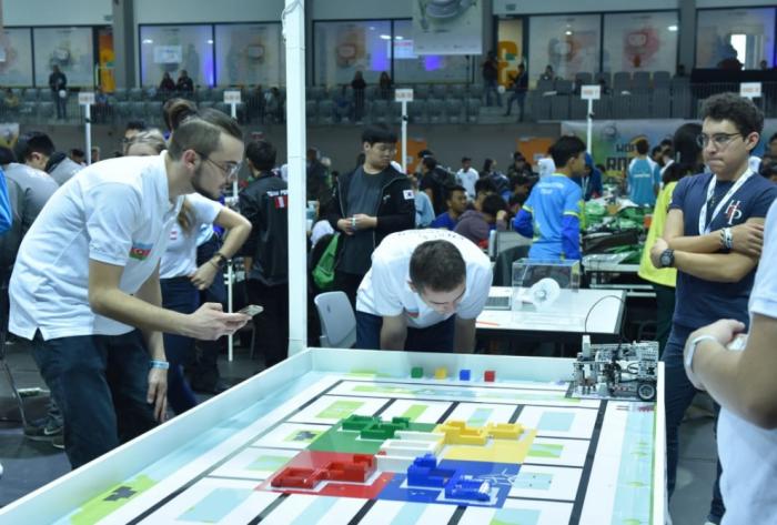 Azerbaiyán está representado en la Olimpiada Mundial de Robots