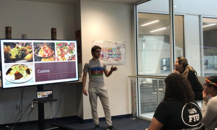 En la Universidad Internacional de Florida se organizó un evento dedicado a Azerbaiyán