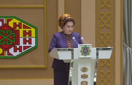 Chairperson of Turkmen Majlis arrives in Azerbaijan