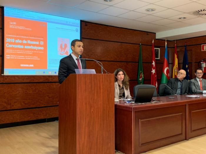 Universidad Autónoma de Madrid acogió una conferencia dedicada al 650 aniversario de Imadaddin Nasimi