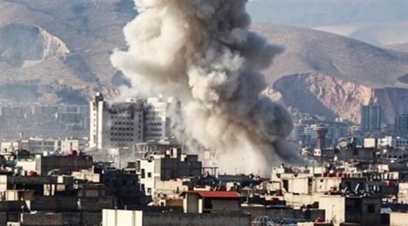 أنباء عن قتلى بانفجار قرب السفارة اللبنانية في دمشق
