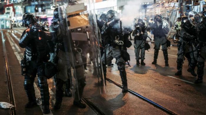 Neue Auseinandersetzungen zwischen Demonstanten und Polizei