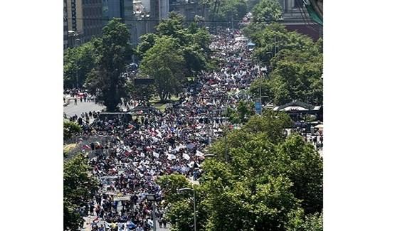 تجدد المواجهات بين المتظاهرين والشرطة في تشيلي
