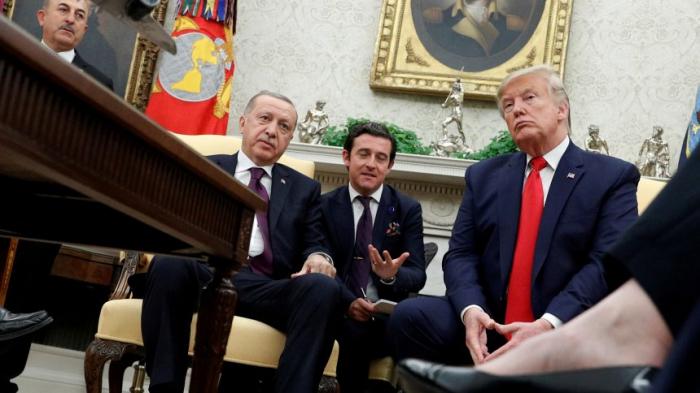 Erdogan zeigt Anti-Kurden-Video im Oval Office