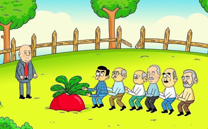 İnsanov, müxalifət və turpun nağılı – Siyasi animasiya