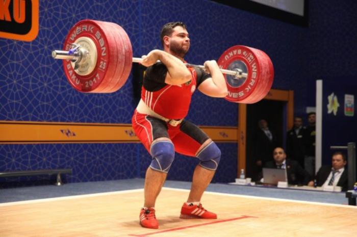 Azerbaijani weightlifter wins silver at IWF Alexander Cup