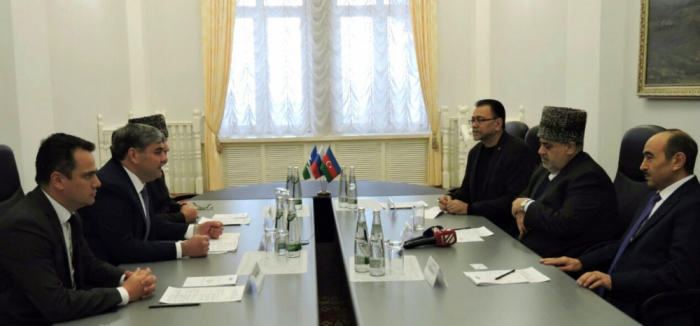 Azerbaijani delegation meets head of Kabardino-Balkar Republic