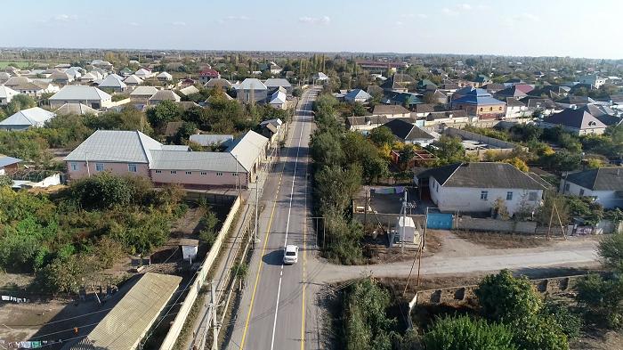 Zərdabda 4 kəndin yolu yenidən qurulub