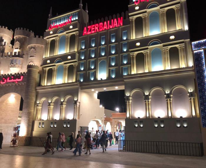 Azerbaijani products showcased at int'l exhibition in Dubai