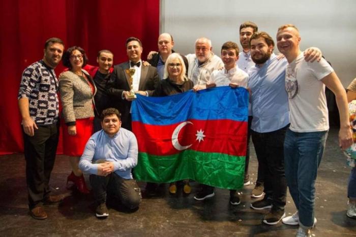 Azərbaycan komandası İsrailin Gülüş Liqasının qalibi olub
