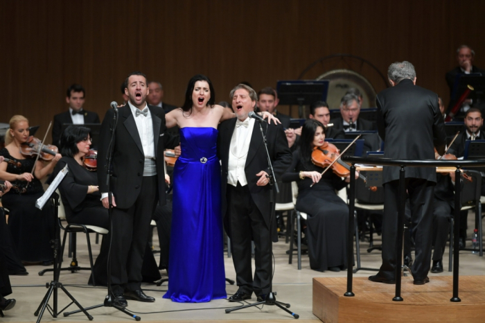 La Scala soloists perform at Heydar Aliyev Center
