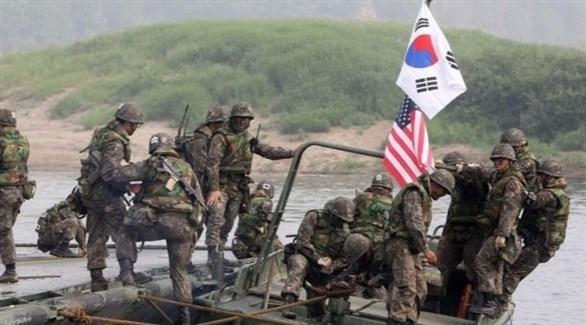واشنطن وسيؤول تقومان بمناورات عسكرية مخفضة نهاية الشهر الجاري