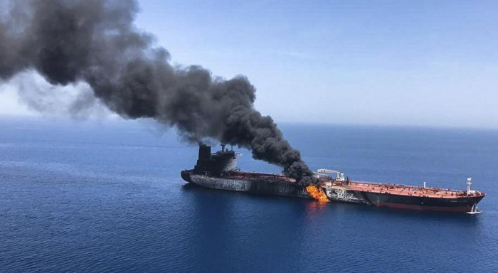 Four people injured as fire breaks on oil tanker in Malaysia