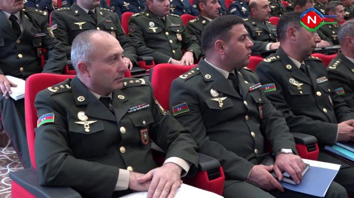 Əlahiddə Ümumqoşun Orduda toplantı keçirilib - VİDEO