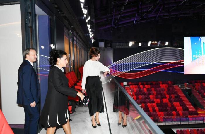 First Vice-President Mehriban Aliyeva visited Gymnastics Center in Luzhniki Olympic Complex
