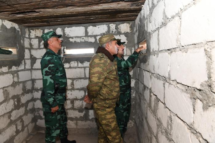 DSX rəisi və Hərbi prokuror Ermənistanla sərhədə gedib - FOTO