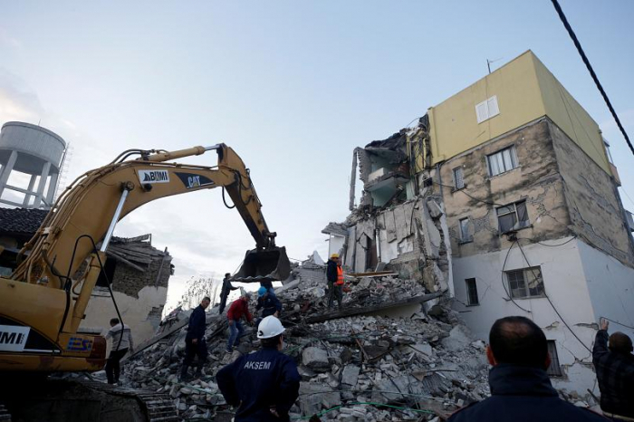 Albania rocked by another earthquake as rescue efforts continue