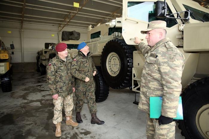 Polish Armed Forces delegation visits Azerbaijan