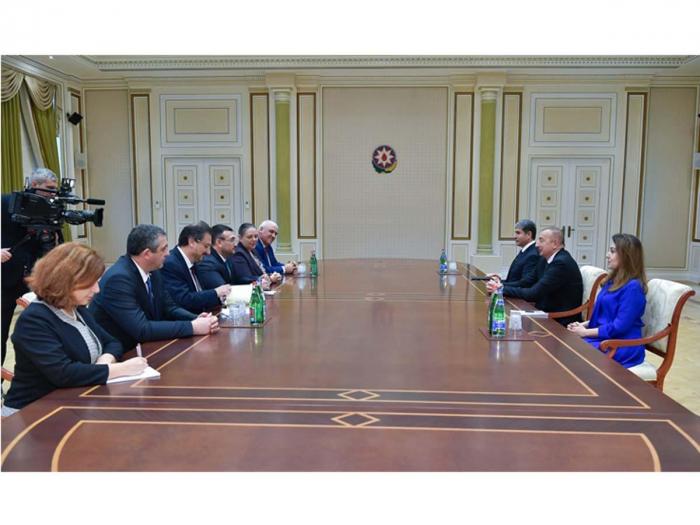 President Ilham Aliyev receives delegation led by Bulgarian interior minister