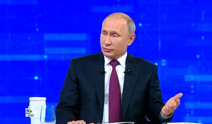 Putin böyük mətbuat konfransına hazırlaşır