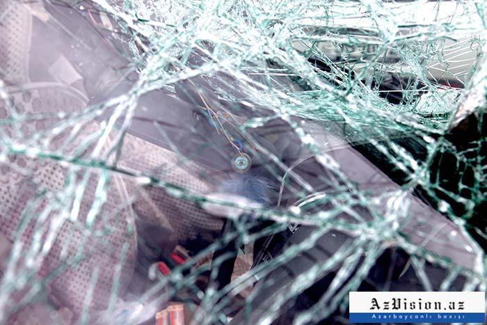 Bakıda iki avtomobil toqquşub, 2 nəfər ölüb