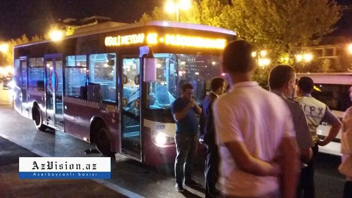 Bakıda avtobus piyadanı vurub, vəziyyəti ağırdır
