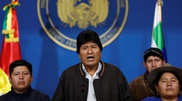 موراليس: أريد العودة إلى بوليفيا