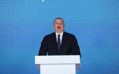 الرئيس الهام علييف في حفل افتتاح مشروع تاناب(تم التحديث)