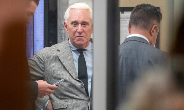 Roger Stone: Trump adviser found guilty on all counts in WikiLeaks hacking case