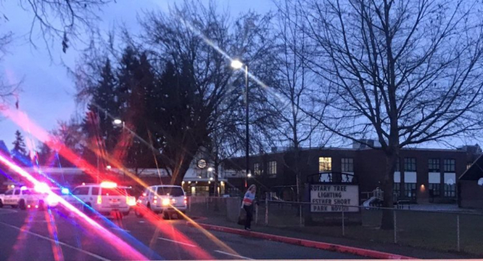 Two shot at school in Washington, shooter dead - Police