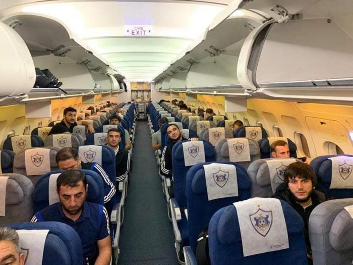 """""""Qarabağ"""" Kiprə yollandı - FOTO"""