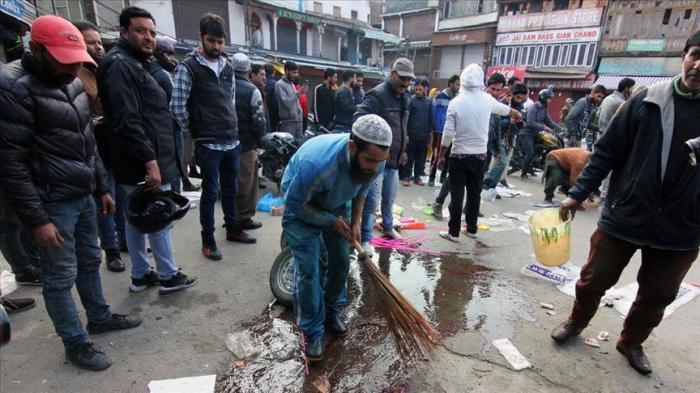 Cachemire :   Un mort et 25 blessés dans une attaque à la bombe artisanale