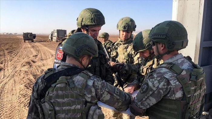 Les forces turques et russes achèvent la 12ème patrouille terrestre