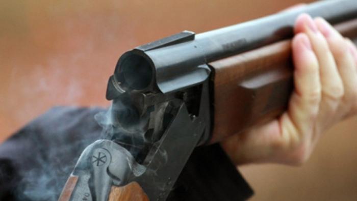 Şamaxıda silahlı insident - Yaralı var