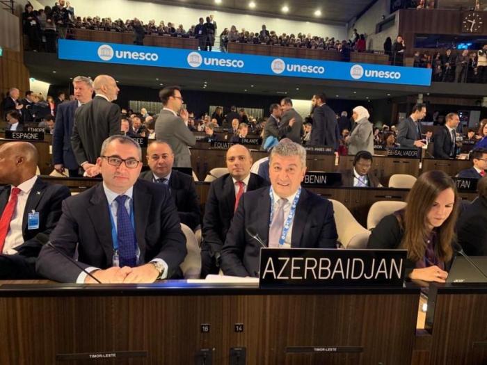 أذربيجان تتم الانتخاب نائبة لرئيس الدورة الأربعين للمؤتمر العام لليونسكو