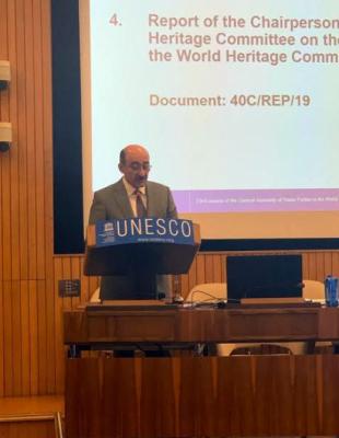 Ministro de Cultura azerbaiyano se reúne con el ex director general de UNESCO