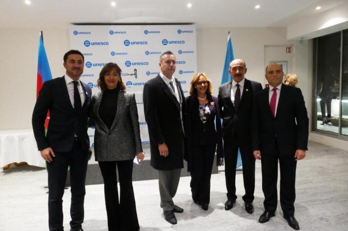 25th anniversary of establishment of Azerbaijan's National Commission for UNESCO celebrated in Paris