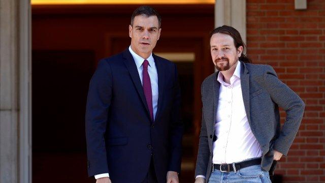 Espagne: accord de principe pour former un gouvernement entre Pedro Sanchez et Podemos