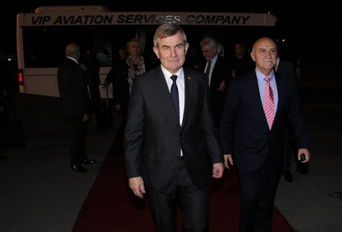 Le président du Seimas est arrivé en Azerbaïdjan