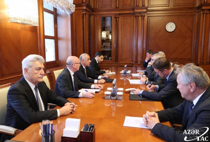Primer ministro se reunió con la delegación encabezada por el jefe del Seimas de Lituania