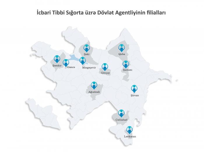 İcbari Tibbi Sığorta Agentliyinin 3 filialı fəaliyyətə başladı
