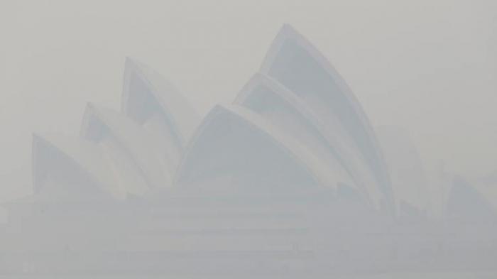Brände hüllen Sydney in Rauchschwaden