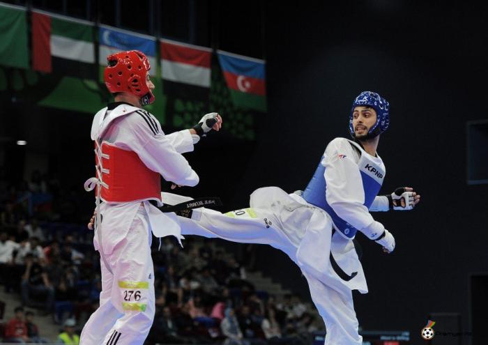 Azərbaycan taekvondoçuları Qran-pridə iki medal qazandı